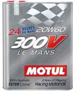 Масло MOTUL 300V Le Mans 20W60 - 2 литра