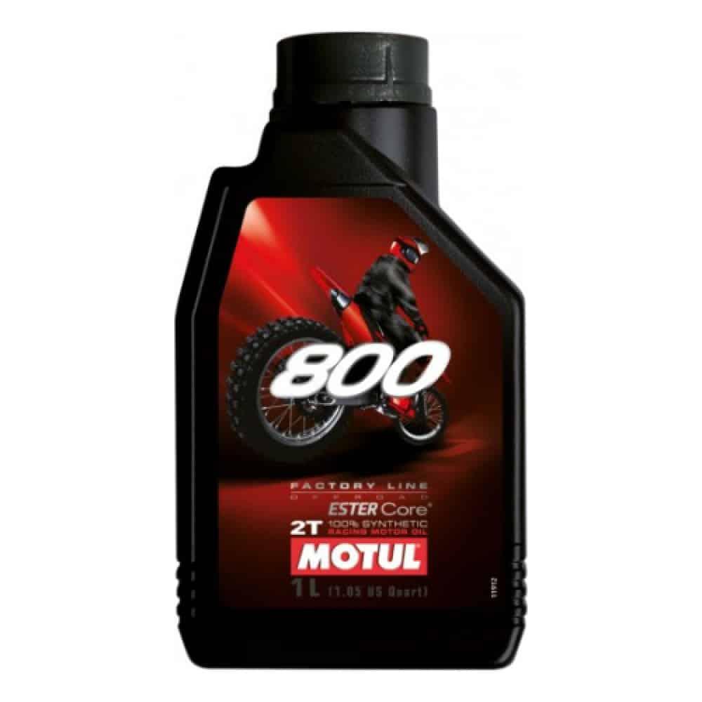 Масло MOTUL 800 2T Off Road - 1 литър