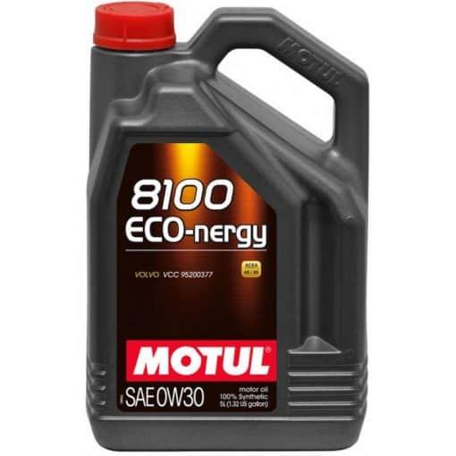 Масло MOTUL 8100 Eco-nergy 0W30 - 5 литра