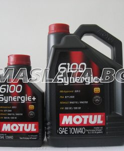 10w40 масло Motul 6100 Synergie plus