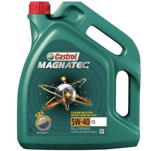Масло CASTROL Magnatec C3 5w40 - 5 литра