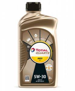 Масло Total Quartz INEO MC3 5W30 - 1 литър