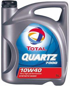 Масло TOTAL Quartz 7000 10w40 - 5 литра