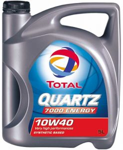 Масло TOTAL QUARTZ 7000 ENERGY 10W40 – 5 литра