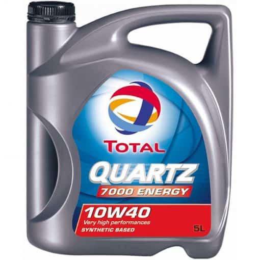 Масло TOTAL QUARTZ 7000 ENERGY 10W40 – 5 литра