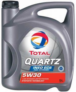 МАСЛО TOTAL QUARTZ INEO ECS 5W30 - 5 литра