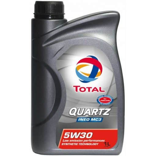 Масло Total Quartz INEO MC3 5W30 - 1 литър
