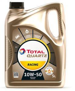 Масло TOTAL QUARTZ RACING 10W50 - 5 литра