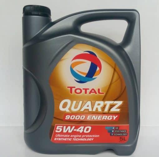 МАСЛО ТОТАЛ Quartz Еnergy 9000 5w40 - 5 литра