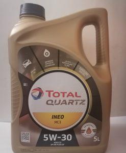 Масло ТОТАЛ QUARTZ INEO MC3 5W30 - 5 литра