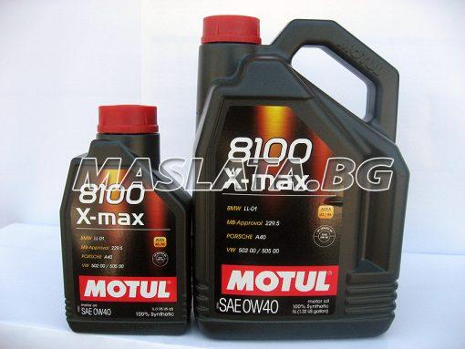 Масло MOTUL 0W40 8100 X MAX