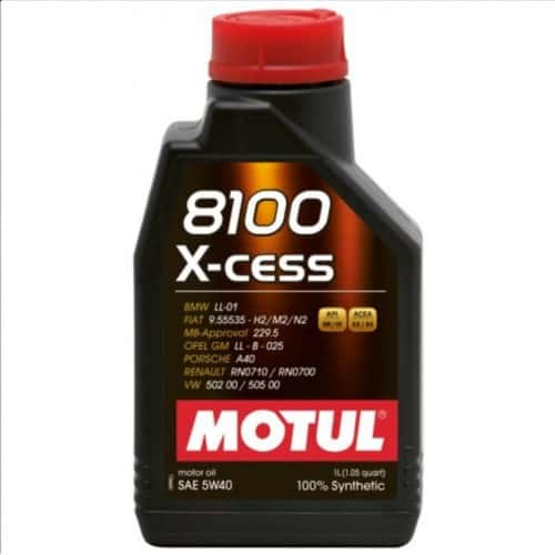Масло MOTUL 8100 X-CESS 5W40 - 1 литър