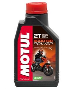 Масло MOTUL SCOOTER POWER 2T - 1 литър
