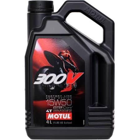 Масло MOTUL 300V 4T FL Road Racing 15w50 - 4 литра