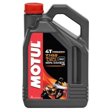 Масло MOTUL 7100 4T 15w50 - 4 литра