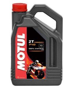 Масло MOTUL 710 2T - 4 литра