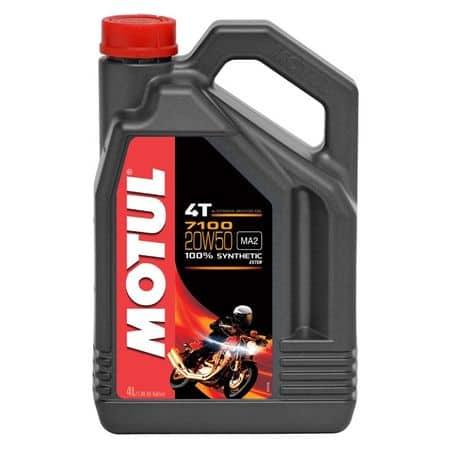 Масло MOTUL 7100 4T 20w50 - 4 литра