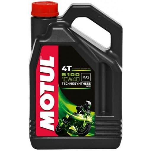 Масло MOTUL 5100 4T 10W40 - 4 литра