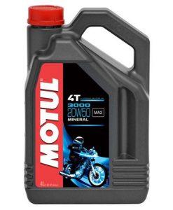 Масло MOTUL 3000 4T 20W50 - 4 литра