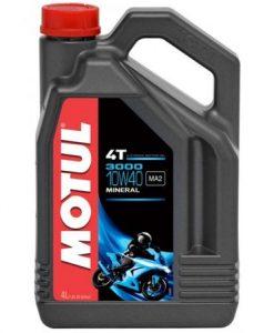 Масло MOTUL 3000 4T 10W40 - 4 литра