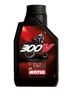 Масло MOTUL 300V 4T FL Off Road 5w40 - 1 литър