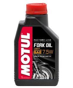 Масло MOTUL FORK OIL FACTORY LINE 7.5W - 1 литър
