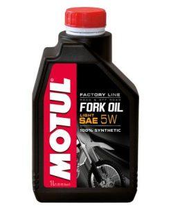 Масло за вилки MOTUL FORK OIL FACTORY LINE 5W - 1 литър