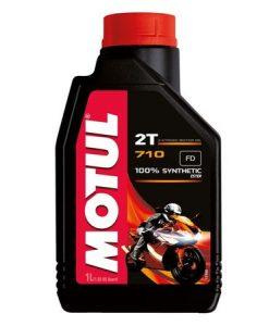 Масло MOTUL 710 2T за двутактови двигатели - 1литър