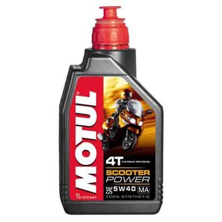 Масло Motul POWER 4T MA 5W40 за скутери - 1 литър