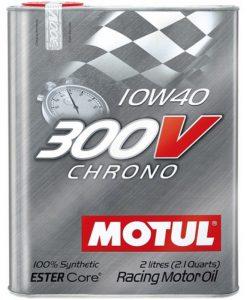 Масло MOTUL 300V Chrono 10W40 - 2 литра