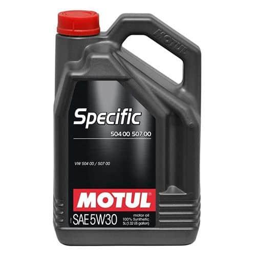 Масло MOTUL 5W30 Specific 504 00 / 507 00 - 5 литра