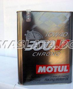 Масло MOTUL 300V Chrono 10W40