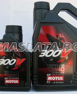 Масло MOTUL 300V Factory Line Road Racing 10W40