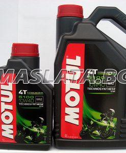 Масло MOTUL 5100 4T 10W-40