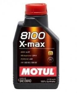 Масло MOTUL 8100 X-MAX 0W40 - 1 литър