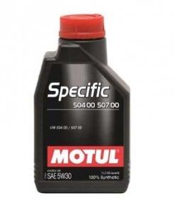Масло MOTUL Specific VW 504 00 / 507 00 5W30 - 1 литър