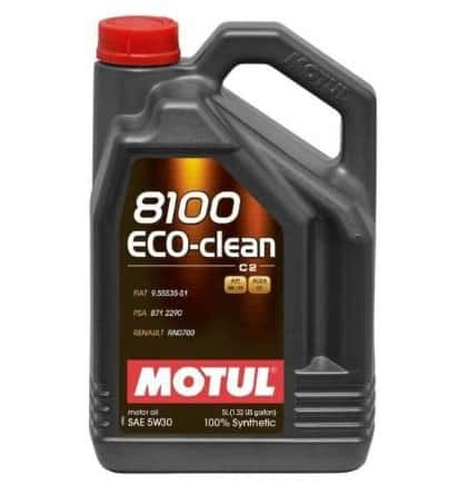 Масло MOTUL 8100 Eco-clean 5W30 - 5 литра