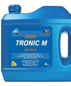 Масло Aral High Tronic M 5w40 - 4 литра