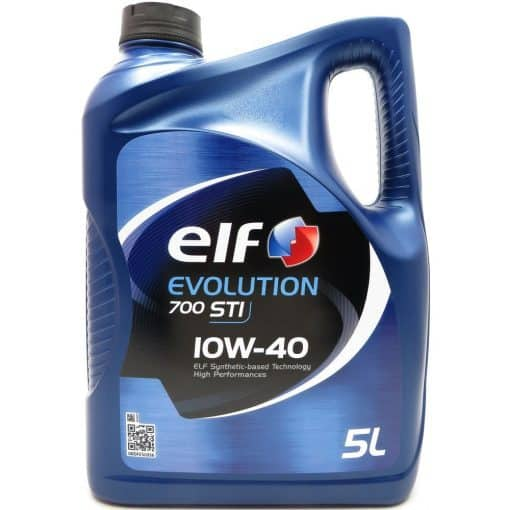 Масло ELF EVOLUTION 700 STI 10W40 - 5 литра