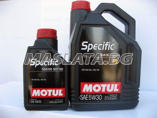 MOTUL 5W30 Specific 504 00 507 00