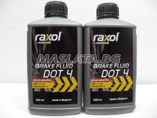 Спирачна течност RAXOL DOT 4
