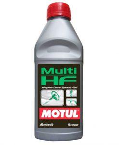 Зелено хидравлично масло MOTUL MULTI HF - 1 литър