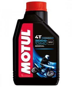Масло MOTUL 3000 4T 10w40 - 1 литър