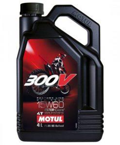 Масло MOTUL 15w60 300V 4T FL Off Road 4L