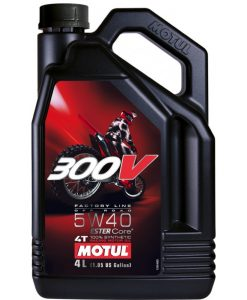 Масло Motul 300V Factory Line Road Racing 5W40 - 4 литра