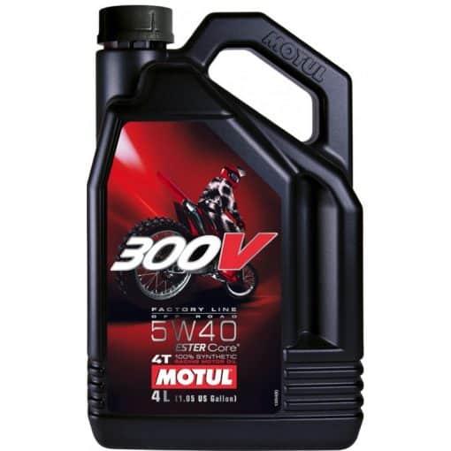 Масло Motul 300V Factory Line Road Racing 5W40 - 4 литра