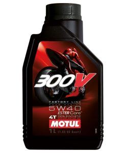 Масло MOTUL 300V 4T FL Road Racing 5w40 - 1 литър