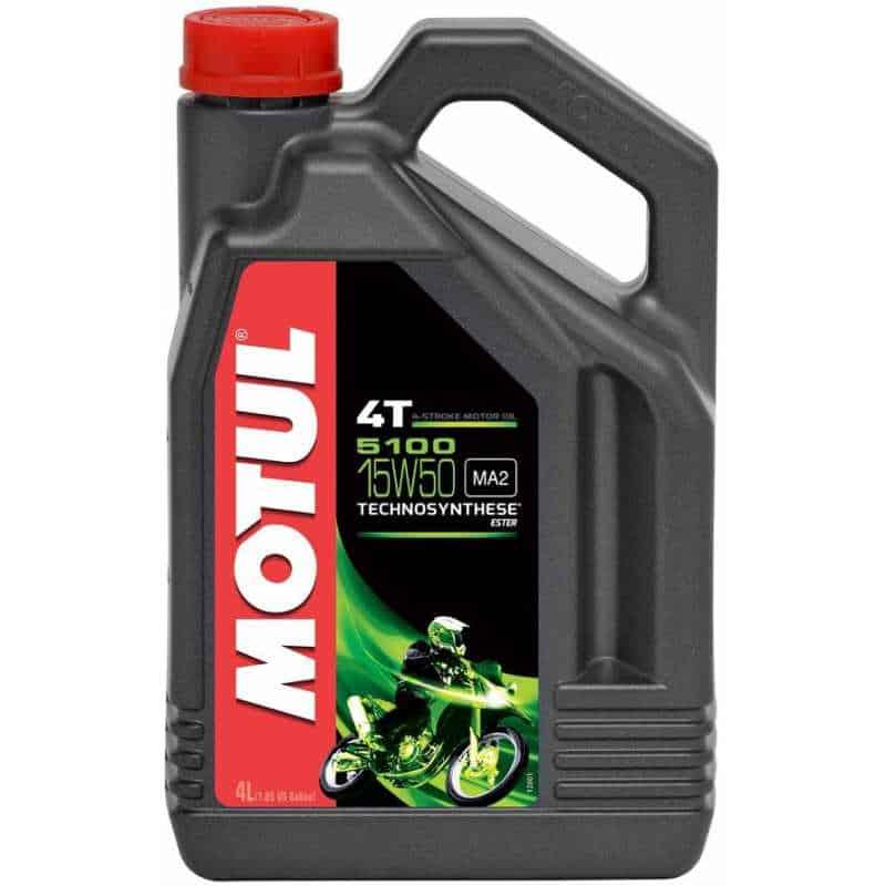 Масло MOTUL 5100 4T 15w50 - 4 литра