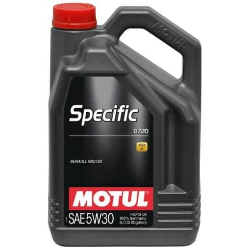 Масло MOTUL Specific 0720 5W30 - 5 литра