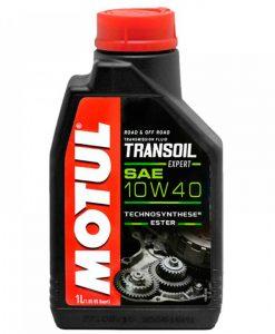Трансмисионно масло MOTUL TRANSOIL EXPERT 10W40 - 1 литър